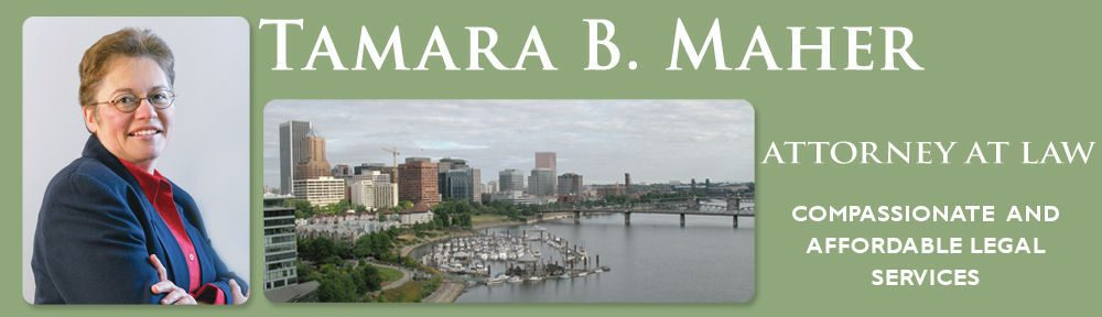 Tamara Maher | Experienced Portland and Beaverton Oregon Attorney
